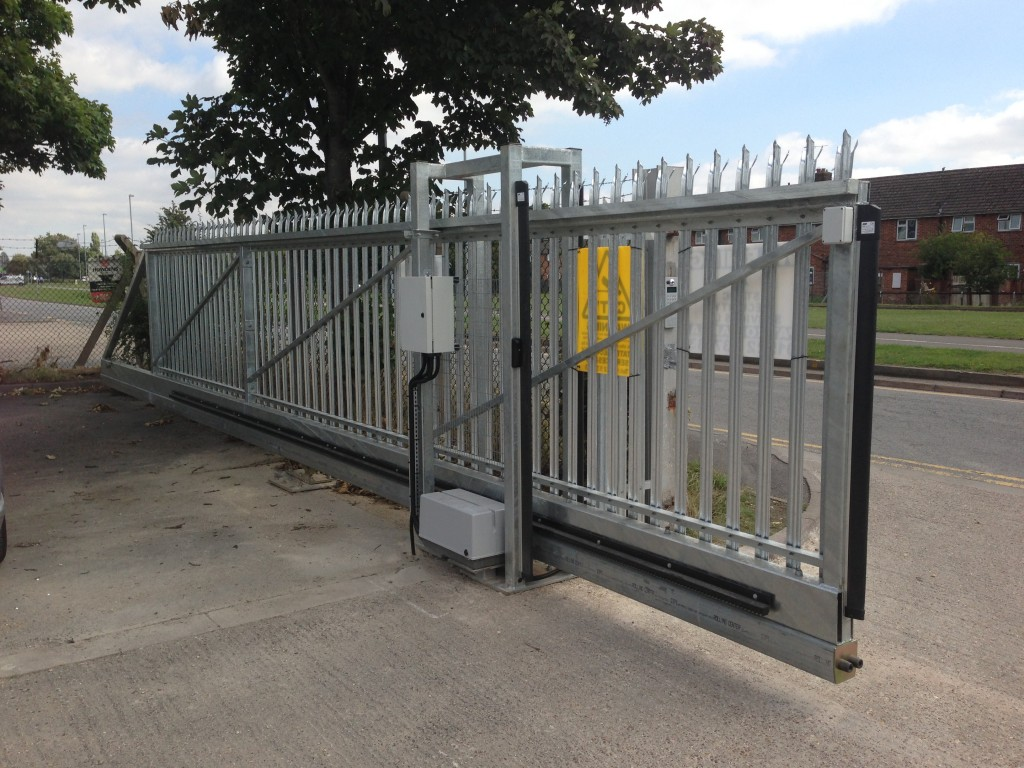 Automated sliding gate systems grec systems for Motorized sliding gate systems