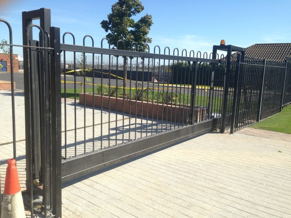 Automated school sliding gate