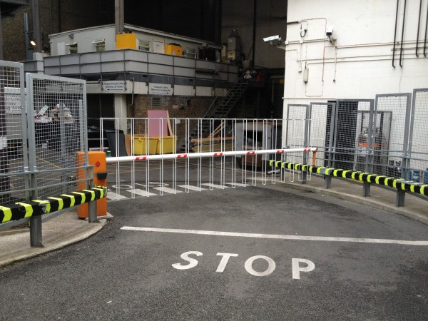 Normal Barrier with Lattice Skirt